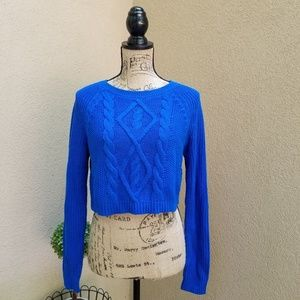 Express Cropped Sweater Size S